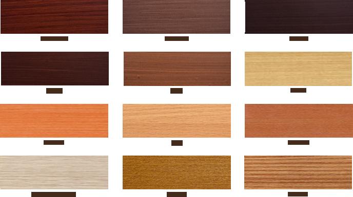 Цветовая палитра деревянных окон со стеклопакетами