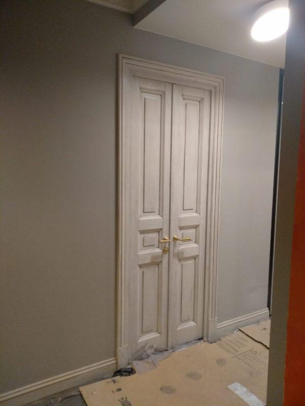 межкомнатная дверь в историческом стиле