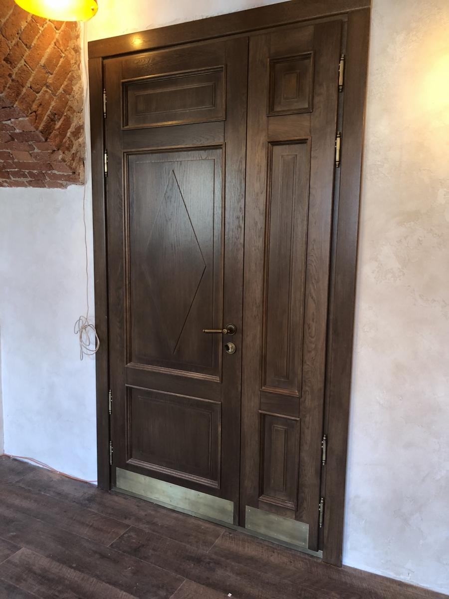Дверь Creda Avrora Орех дуб (Креда Аврора) - Купить в