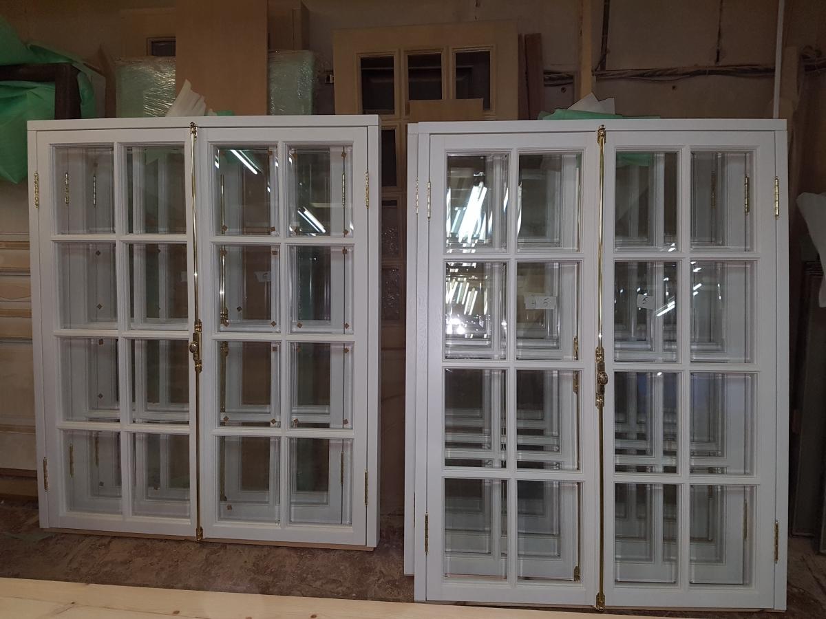 Белые окна ГИОП из массива