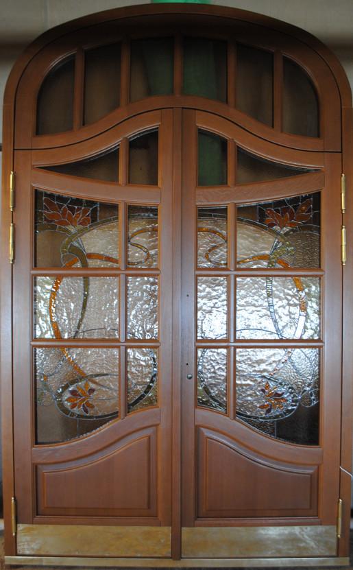Двери ГИОП арочные