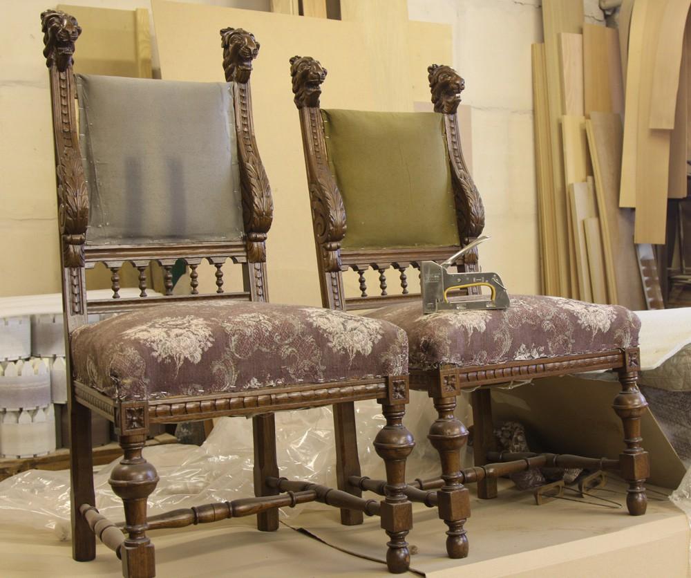 Деревянные стулья из массива