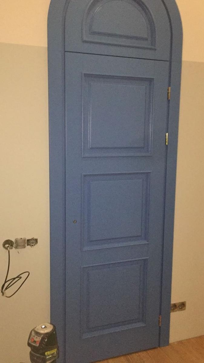 Двери межкомнатные арочные