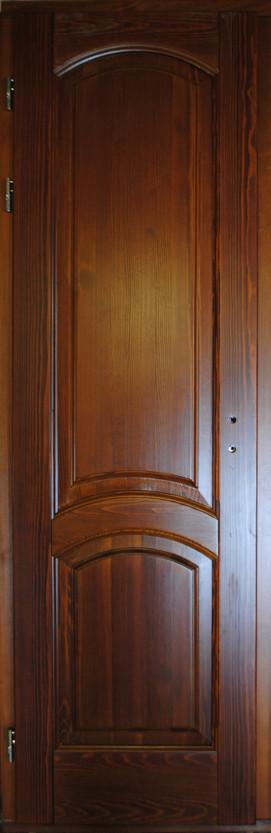 Двери межкомнатные из массива сосны
