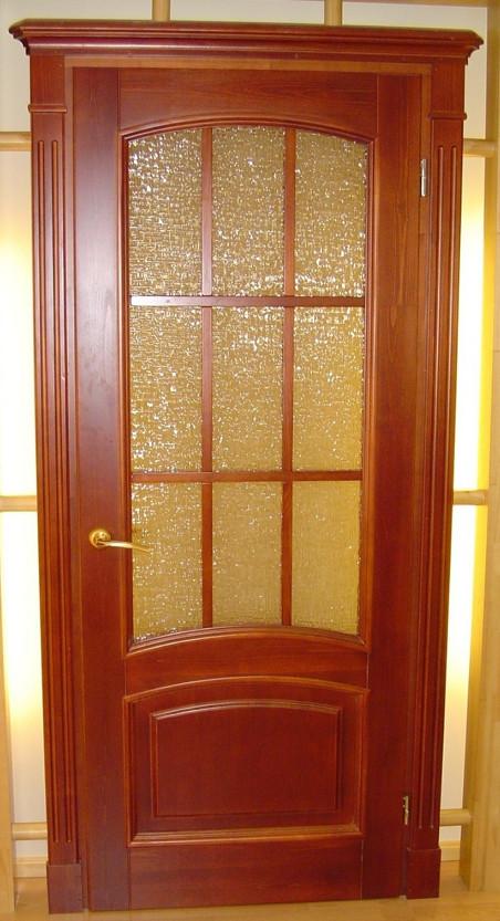 Межкомнатные двери из сосны на заказ