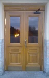 Двери входные двупольные