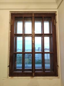 Окна ГИОП из массива дуба