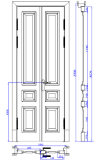 эксклюзивные двери и окна в историческом стиле