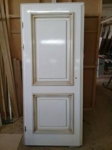 Двери в патине