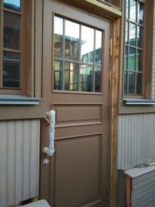 Двери ГИОП со стеклом